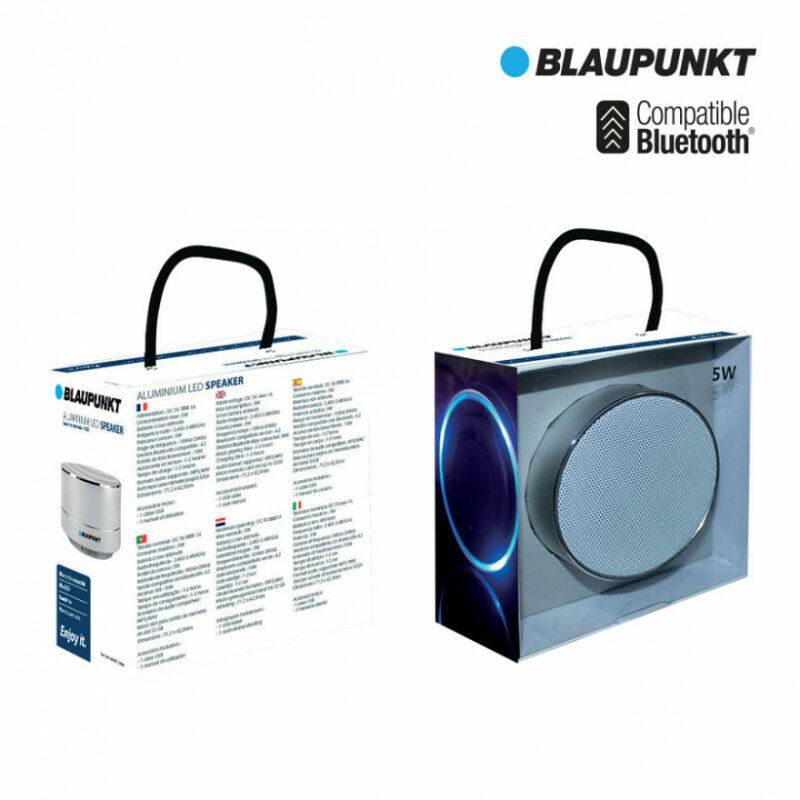 cadeaux-d-affaires-enceinte-bluetooth-5w-led-blaupunkt-blues-pas chers