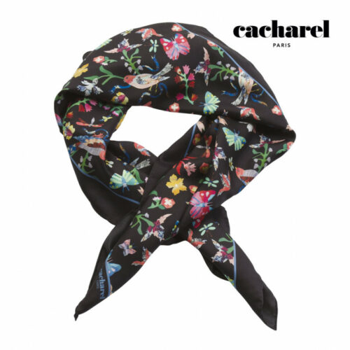 cadeaux-d-affaires-foulard-en-soie-cacharel-butterfly
