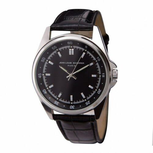 cadeaux-d-affaires-montre-contraste-jean-louis-scherrer-black