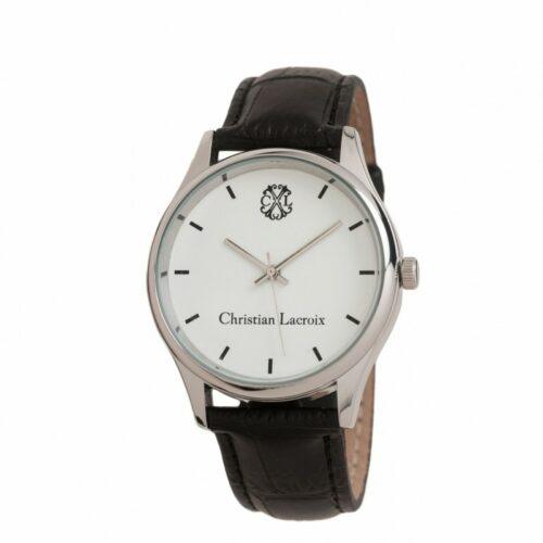 cadeaux-d-affaires-montre-poursuite-christian-lacroix-black-white