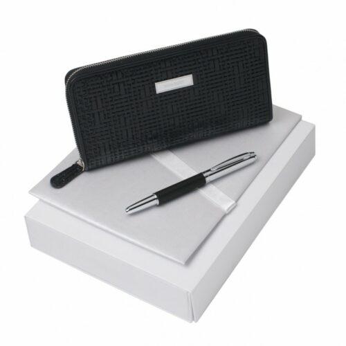cadeaux-d-affaires-parure-dame-nina-ricci-portefeuille-stylo-roller