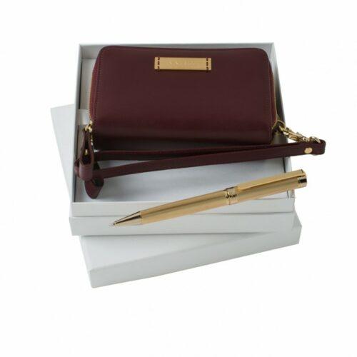 cadeaux-d-affaires-set-nina-ricci-evidence-burgundy