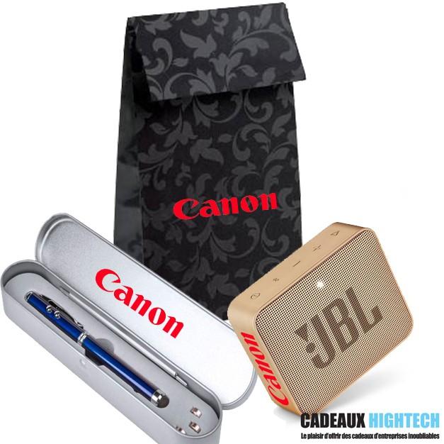 coffret-cadeau-client -jbl-go-2-champagne-et-stylo-laser