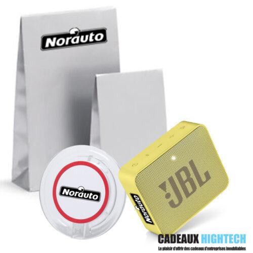 coffret-cadeau-entreprise-jbl-go-2-jaune-et-chargeur-mobile