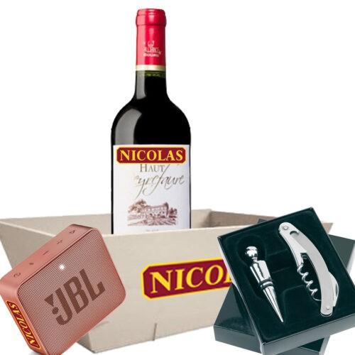 coffret-cadeau-entreprise-jbl-go-2-rose-et-vin