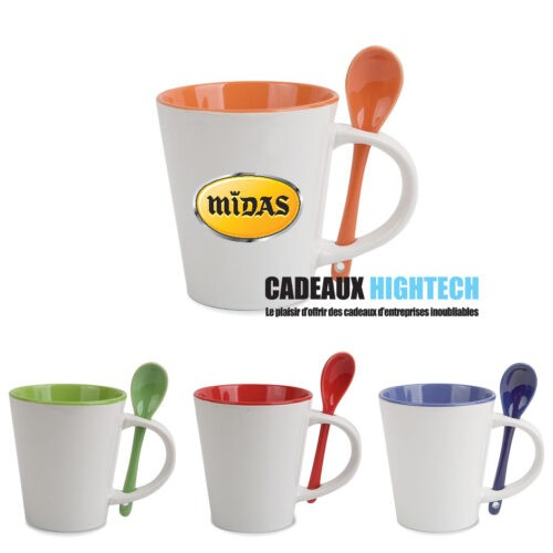 mug-ceramique-support-cuillere-de-couleur.
