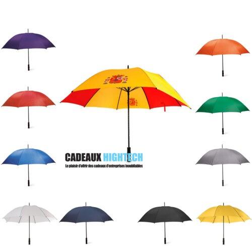 parapluie-gris-coupe-vent-de-golf-utile.